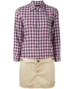 Dsquared2 | Checked Shirt Dress Size 42