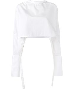 Ellery | Hallucinate Cropped Top 12 Cotton