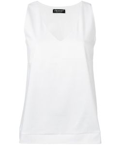 Twin-set | V-Neck Tank Top Large Cotton