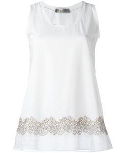 D.exterior | Lace Trim Vest Size Medium