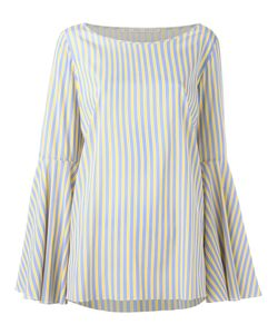 MR. MRS. SHIRT | Striped Blouse Size Large