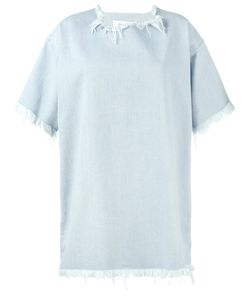 Marques Almeida | Marquesalmeida Boxy Frayed Denim Dress Size Xs