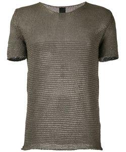 10Sei0Otto | Knit Round Neck T-Shirt Size Large