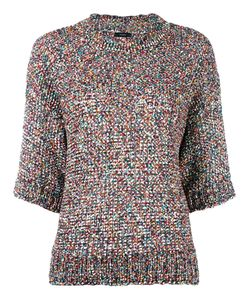 Joseph | Knitted Colours Tweed Top Xs Cotton/Polyamide/Polyester