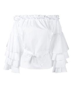 Jour/Né | Off Shoulder Ruffle Top 38 Cotton