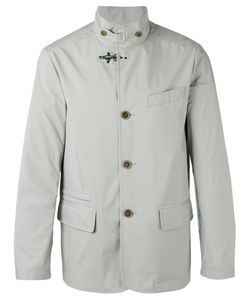 Fay | Buttoned High Collar Jacket