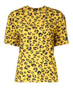 G.V.G.V.   Leopard Print T-Shirt Xs Polyurethane/Rayon