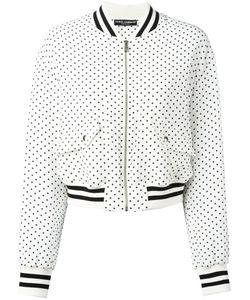 Dolce & Gabbana   Polka Dot Bomber Jacket 40