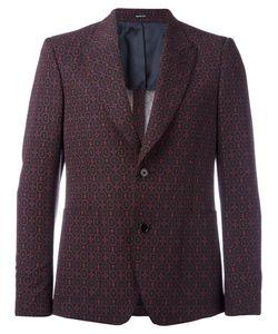 Alexander McQueen | Printed Blazer 46 Viscose/Virgin Wool/Mohair/Silk