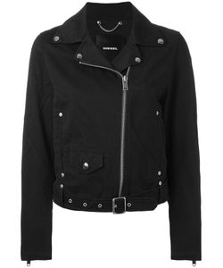 Diesel | Biker Jacket Large Cotton/Nylon/Viscose