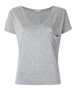 EGREY   V Neck T-Shirt 42 Viscose
