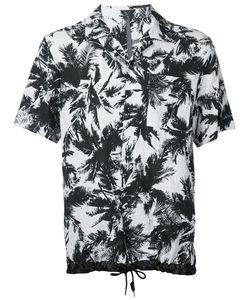 KAZUYUKI KUMAGAI | Leaves Print Shortsleeved Shirt