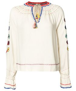 Ulla Johnson | Embroide Blouse 0 Silk