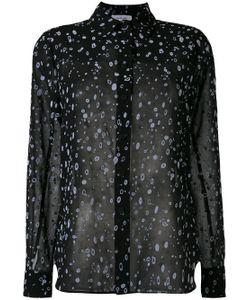Carven | Splatter Print Sheer Shirt