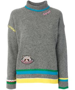 Mira Mikati | Patched Colour Block Jumper Women
