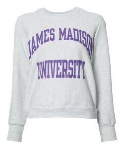 Re/Done | James Madison University Sweatshirt Xs/S Polyester/Cotton/Other Fibers