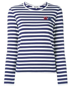 Comme des Gar ons Play | Comme Des Garçons Play Striped Longlseeved T-Shirt Size Small