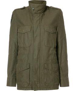 Etienne Marcel | Cargo Pocket Military Jacket Medium Acrylic/Polyester/Cotton