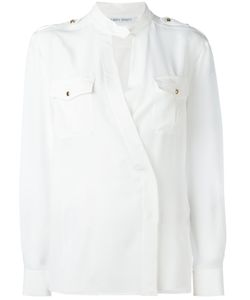 Alberta Ferretti | Cross Over Shirt 40 Silk