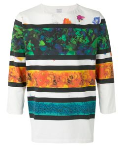 PAUL SMITH LONDON | Striped Print T-Shirt Size Medium