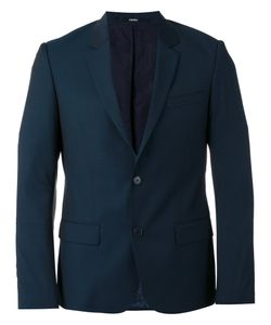 Kenzo | Single-Breasted Blazer 52 Cotton/Acetate/Wool