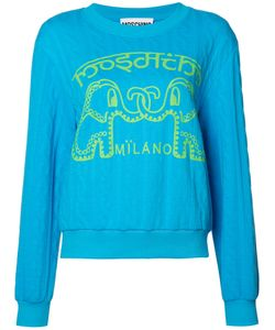 Moschino | Elephant Cable Knit Jumper Size Xs