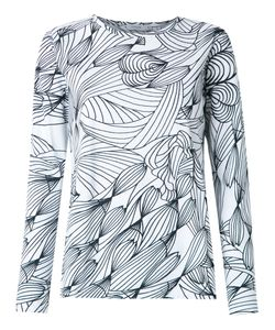 Isolda | Graphic Print Blouse 38