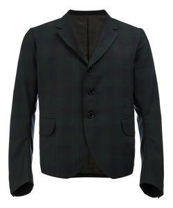 Christopher Nemeth | Tartan Cropped Blazer Size Medium