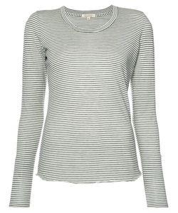 Nili Lotan | Striped T-Shirt Size Large