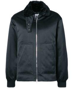 NOMIA | Faux Fur Collar Aviator Jacket Women