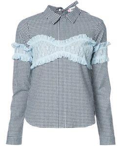 Sandy Liang | Checked Shirt 36 Cotton/Spandex/Elastane