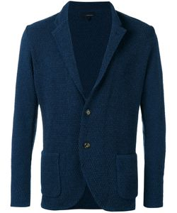 Lardini | Textured Two-Button Jacket L