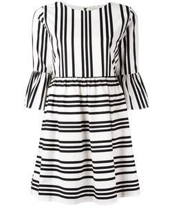Alice + Olivia | Striped Flared Dress Size