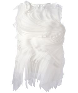 Gianluca Capannolo | Twirled Pleats Top 44 Silk