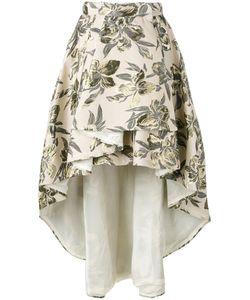 Christian Pellizzari | Asymmetric Printed Skirt Size 44
