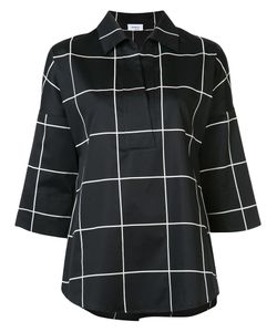 Akris Punto | Checked Shirt 10 Cotton