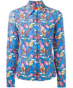 Ultràchic | Kite Print Buttoned Shirt 44 Cotton/Spandex/Elastane