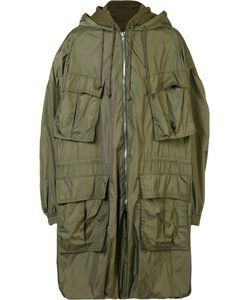 JUUN.J | Hooded Military Jacket 48 Cotton/Nylon/Polyester