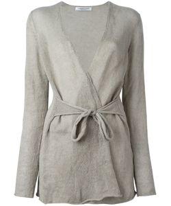 Lamberto Losani | Waist Tie Cardigan Size Small
