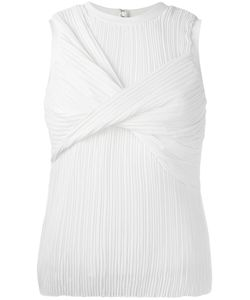 Victoria, Victoria Beckham | Victoria Victoria Beckham Pleated Knot Tank 1 Polyester/Silk/Viscose/Spandex/Elastane