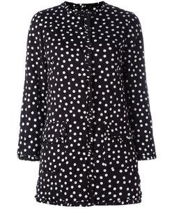 Dolce & Gabbana | Polka Dot Print Coat 40