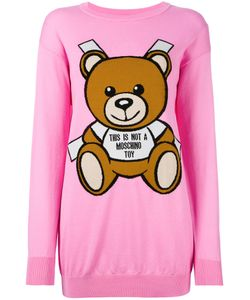 Moschino | Toy Bear Paper Cut Out Sweater Dress Xxs