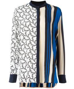 Diane Von Furstenberg | Striped Blouse Small