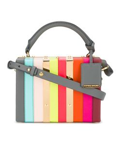 Sophie Hulme | Albion Box Cross-Body Bag Leather/Metal