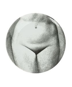 FORNASETTI   Nude Woman Print Plate