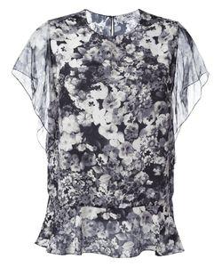 Lanvin | Print Blouse 42 Silk