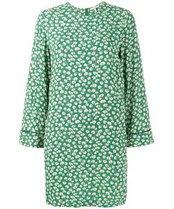 Ganni | Dalton Print Dress 40 Viscose Crepe