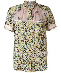 COACH | Рубашка С Короткими Рукавами И Цветочным Принтом