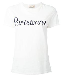 Maison Kitsune   Maison Kitsuné Parisienne Print T-Shirt Large