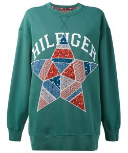 Hilfiger Collection | Printed Sweatshirt S